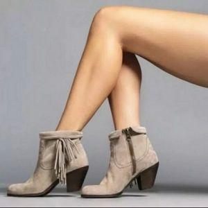 Sam Edelman Louie Fringe Ankle Bootie Size 8.5